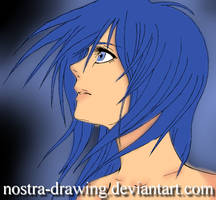 Blue  by Nostra-Drawing