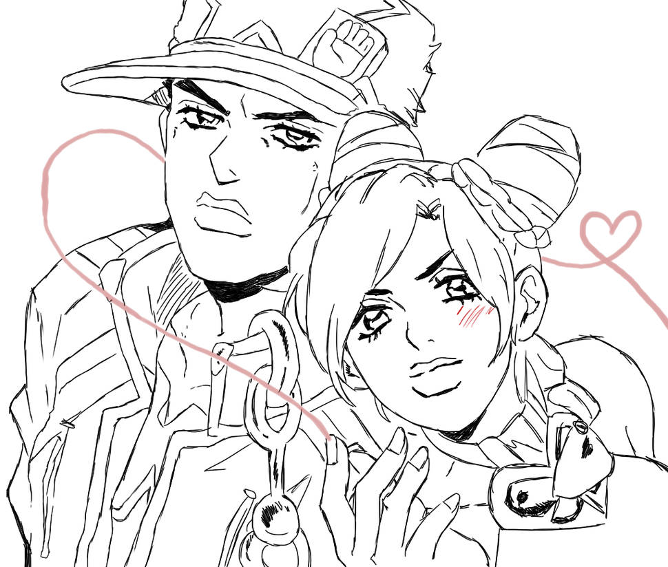 Jotaro and Jolyne Kujo by Nostra-Drawing on DeviantArt