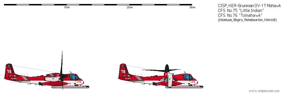 CISP-Grumman OV-1T-CFS-LittleIndian by kimwolf12