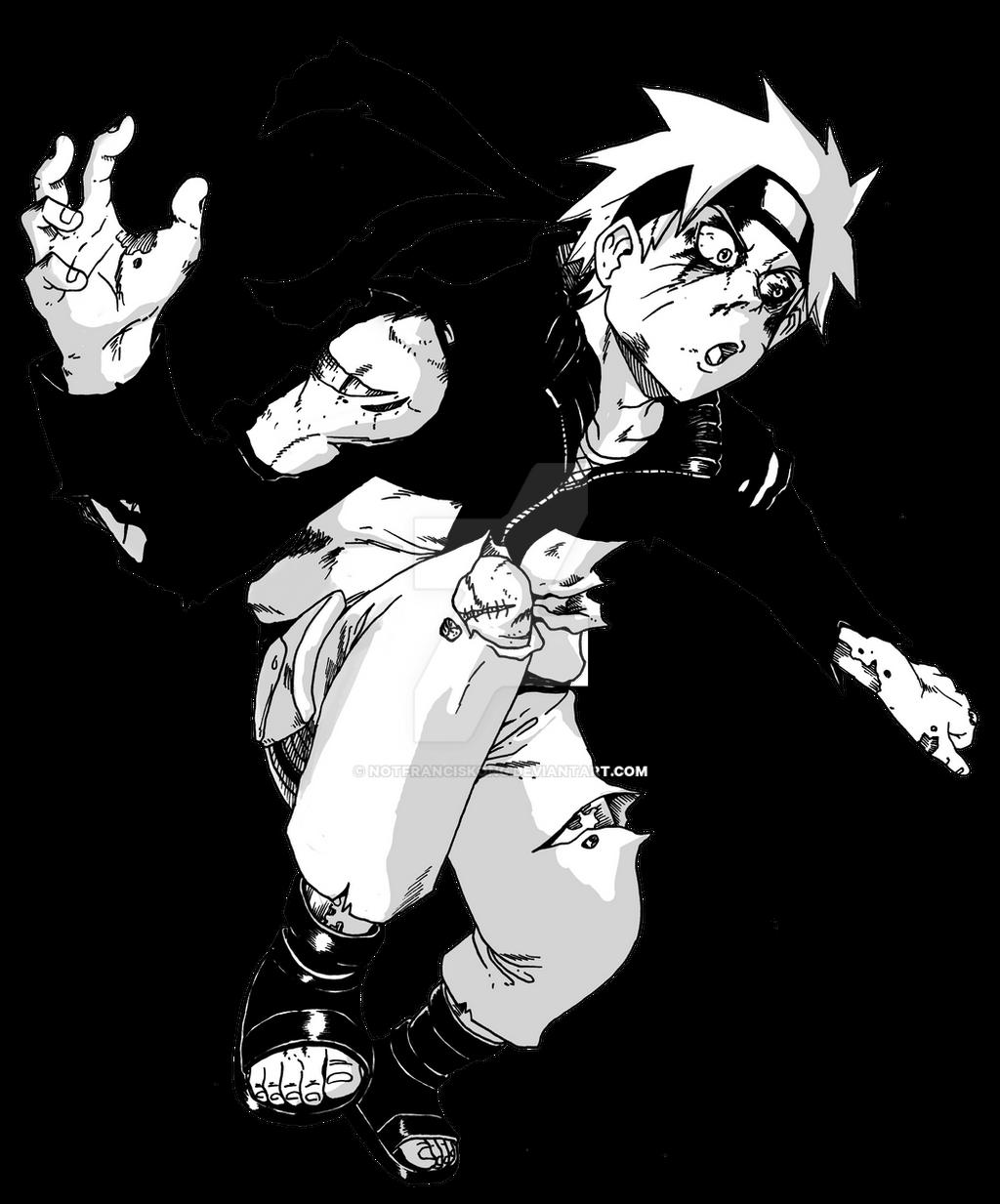 Naruto Zombie By Notfranciskong On DeviantArt