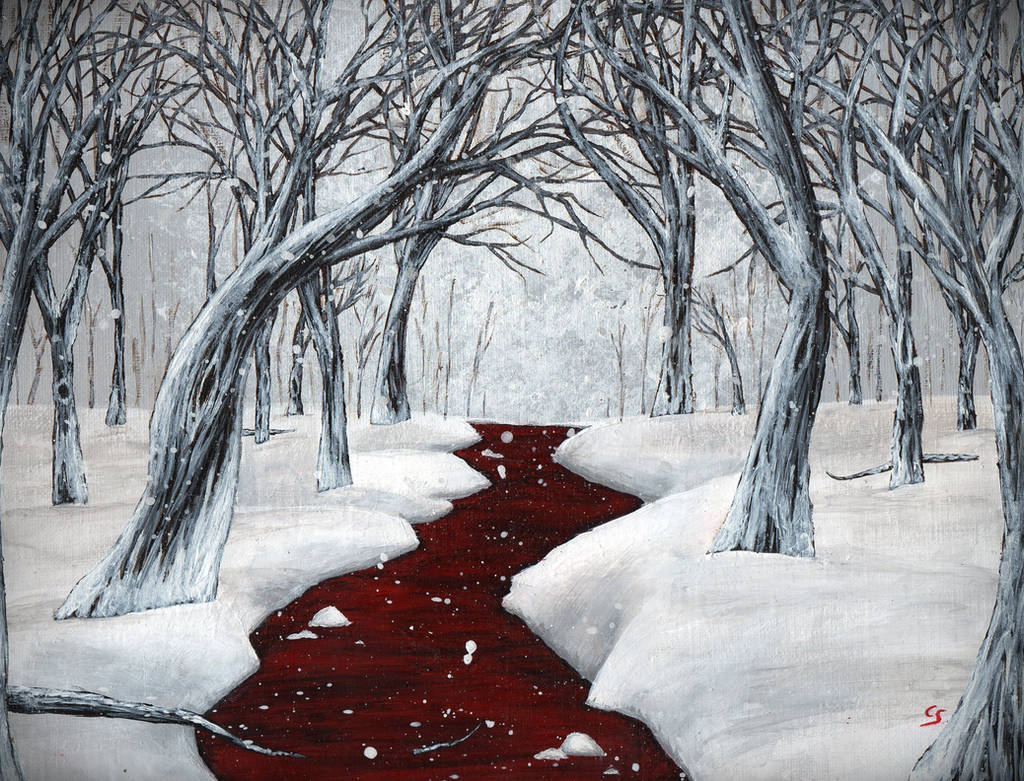 Red Waters by CaraliaS