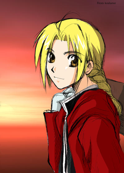 Edward Elric-Start the journy- by koalanui