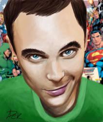 Bazinga Sheldon Cooper by pekica