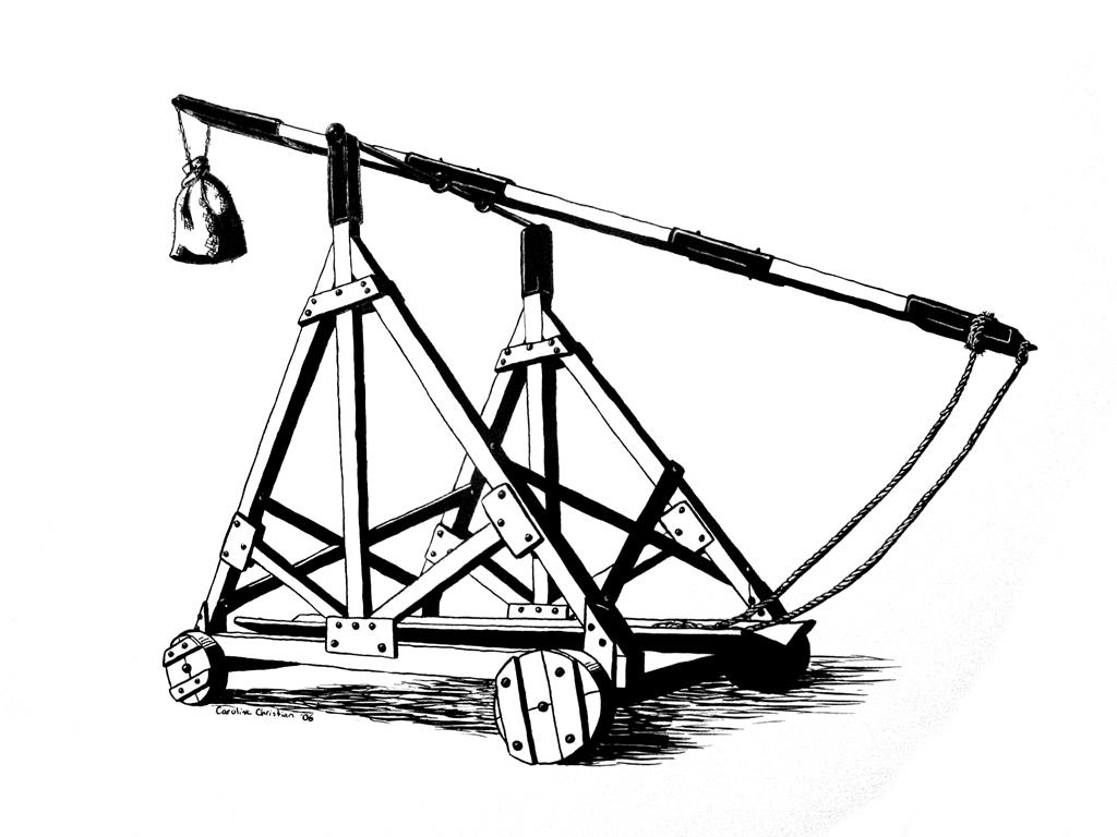 mangonel catapult 4 how to make a catapult disclaimer - please read a catapult/mangonel is a weapon please exercise caution when firing this model this is a working scale model.
