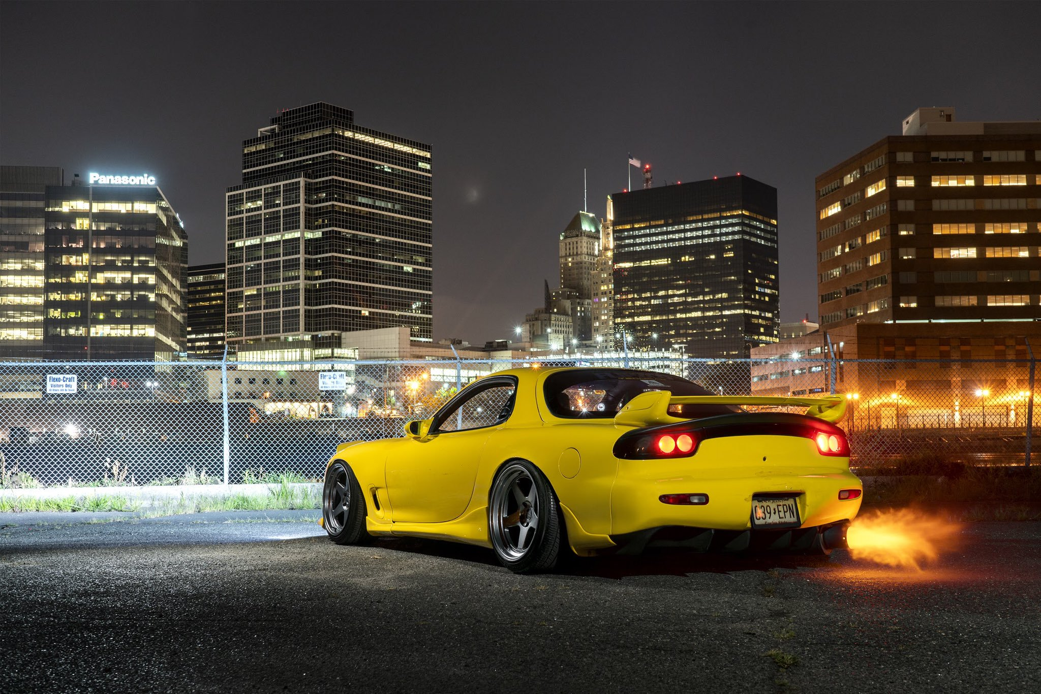 Yellow Mazda Rx7 Fd Wallpaper By Dneo1299 On Deviantart