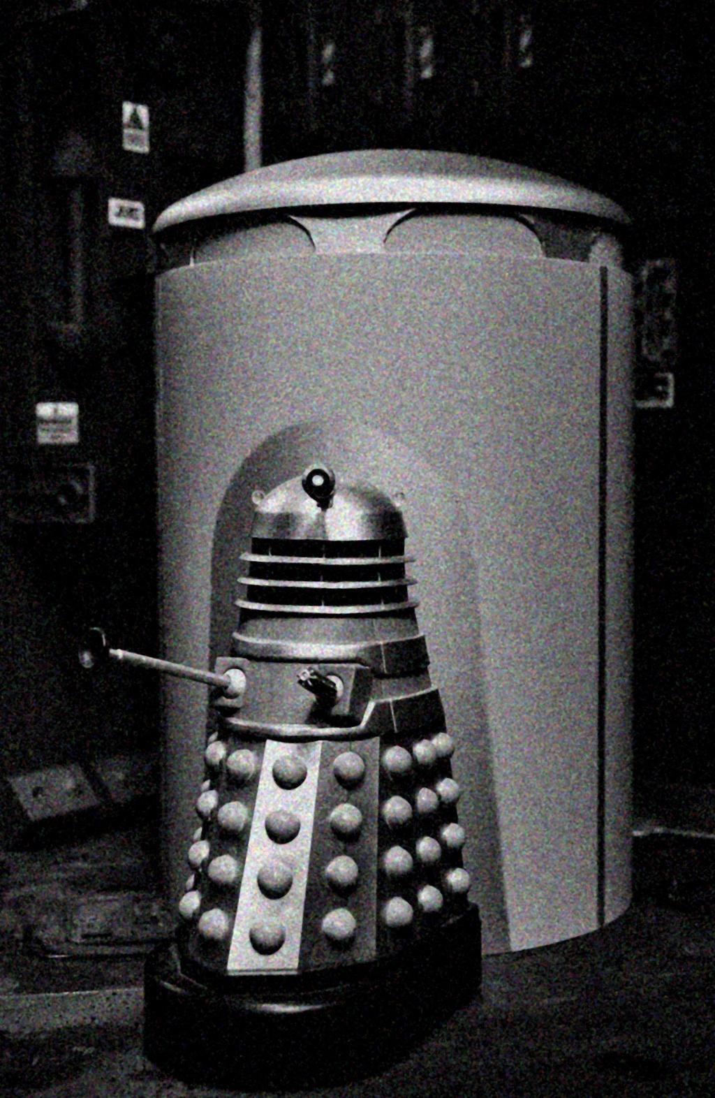 Dalek Time Ship - Custom Built Model