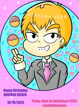 Arataka Reigen Happy Birthday 10/10/20