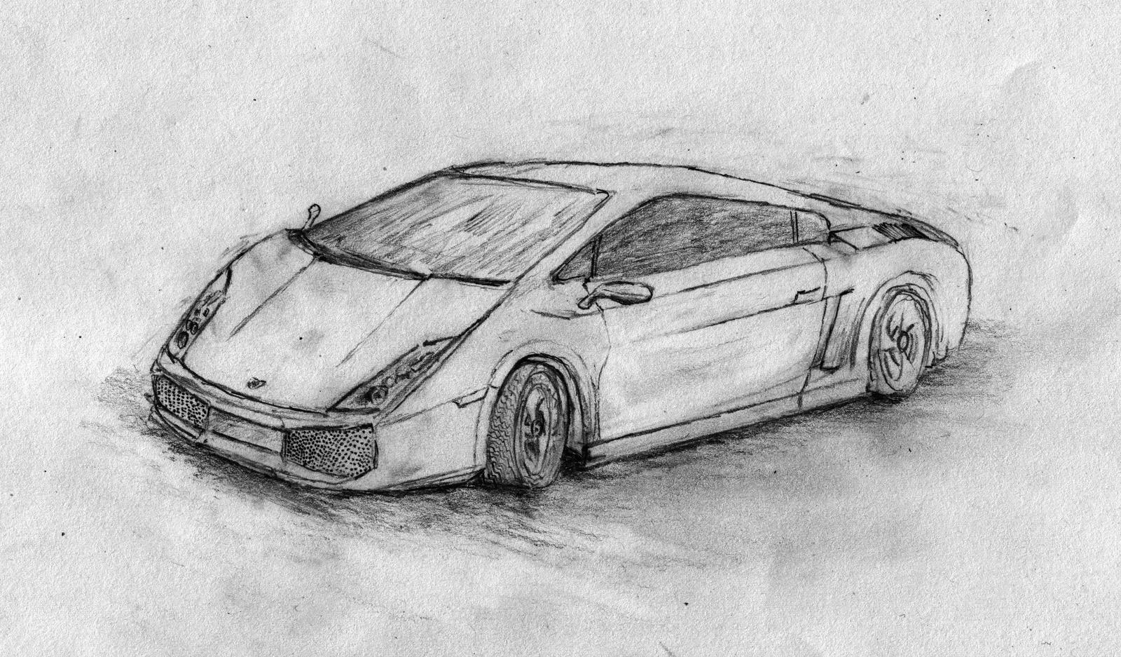 Lamborghini Gallardo Pencil By Antscape On Deviantart