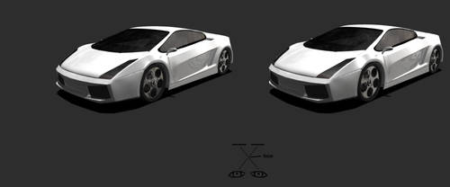 Stereoscopic Car
