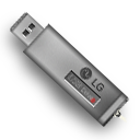 LG USB Drive Icon by Antscape