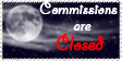 Night Commissions Closed Stamp by Tsukiiyume