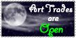 Night Art Trades Open Stamp by Tsukiiyume
