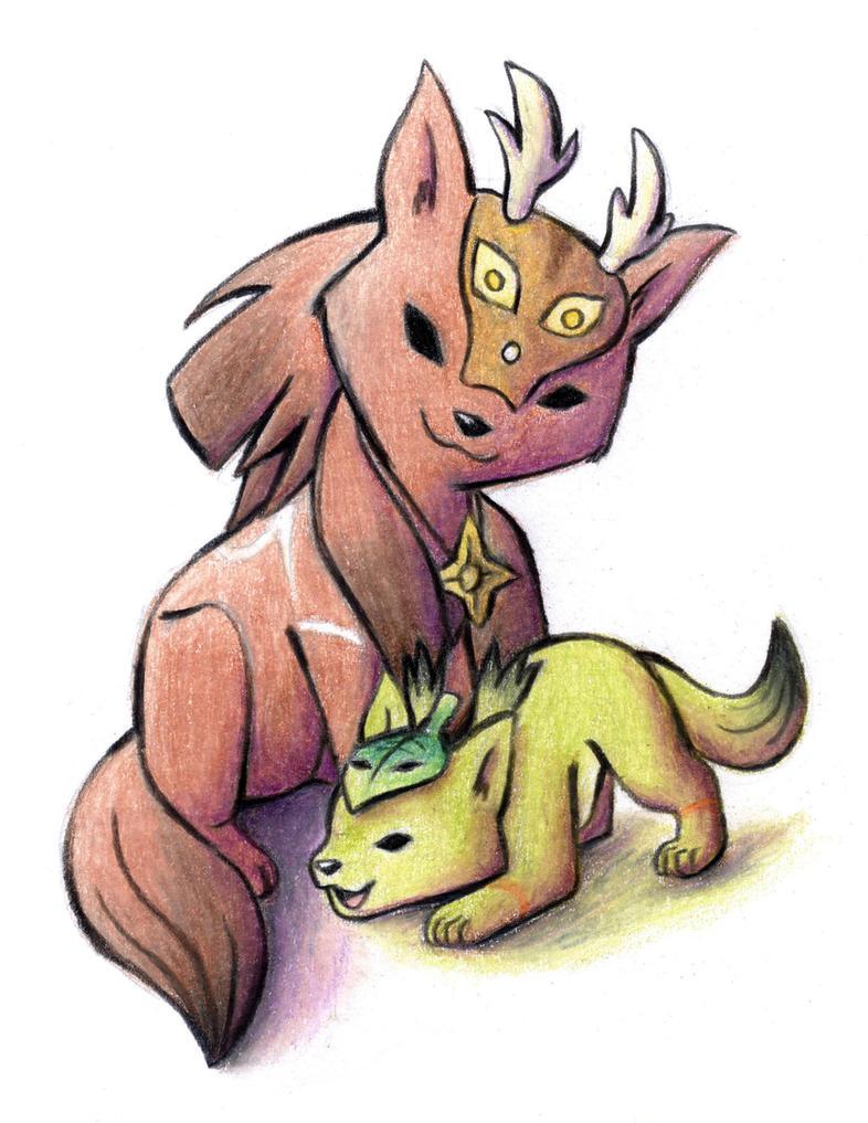 Kai and Lika by Ammako-chan