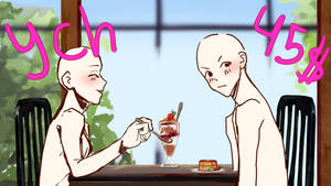 Couple cafe ych ( PayPal only )