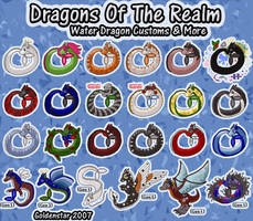 Dragons of the Realm: Water Dragon Collection
