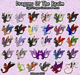 Dragons of the Realm: Light Dragon Collection