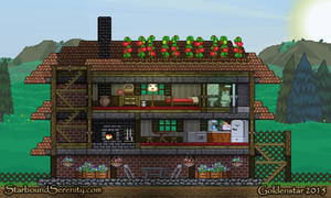 Starbound Build: Mini House