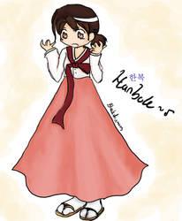 hanbok by blackdiamons