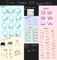 Icon / Emote YCH: 2/2 OPEN!