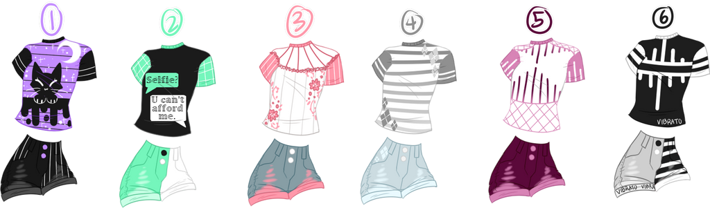 Cheap $5.50 Outfit Adopts: CLOSED