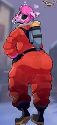 pink ass hell by CreamyGravy