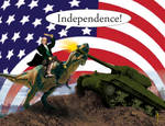 James Madison vs tank by blueeyedfreak