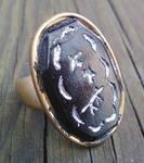 Signet ring from Wheel of time by blueeyedfreak