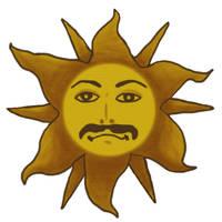 King Arthur's Logo from Monty Python's movie by blueeyedfreak