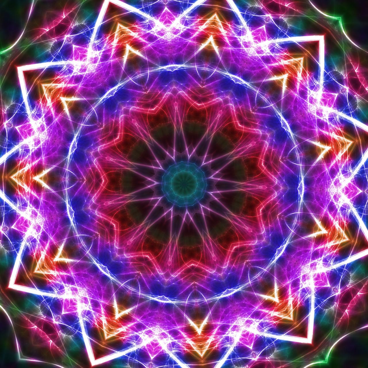 new glow+Kaleidoscope by huntercobb98