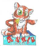 Renie Tigress conbadge