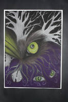 Wolf Eye by Kinicawolf