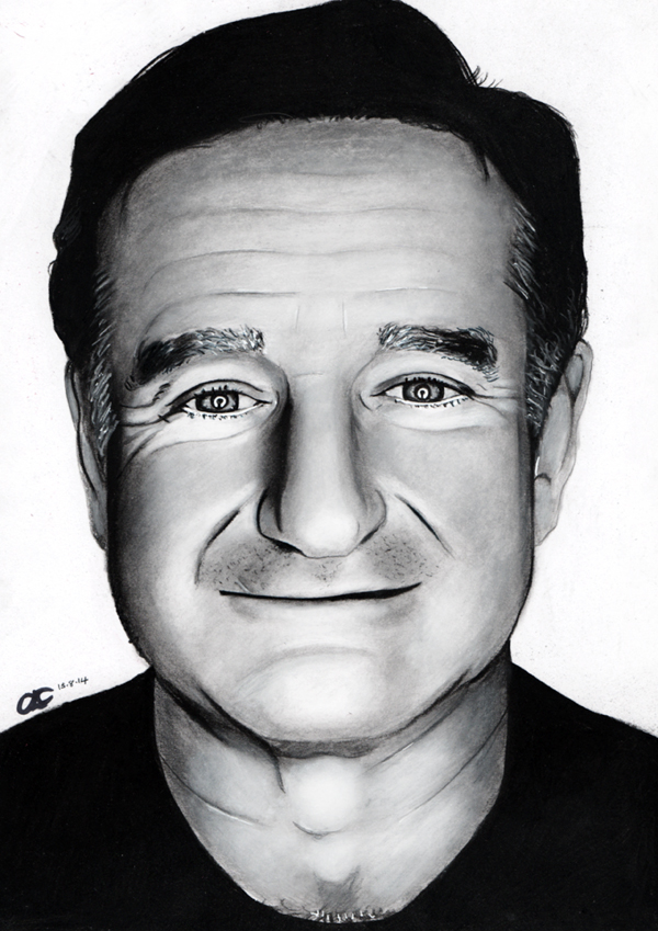 Robin Williams RIP by cconnell