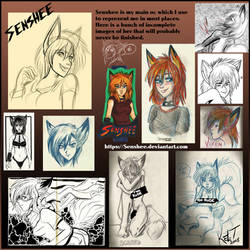 Senshee Sketches by Senshee