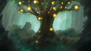Sparkling Tree by Atik1n