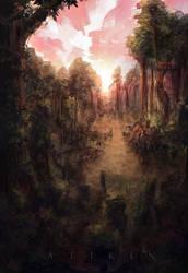 Thalae, The Great Wood by Atik1n