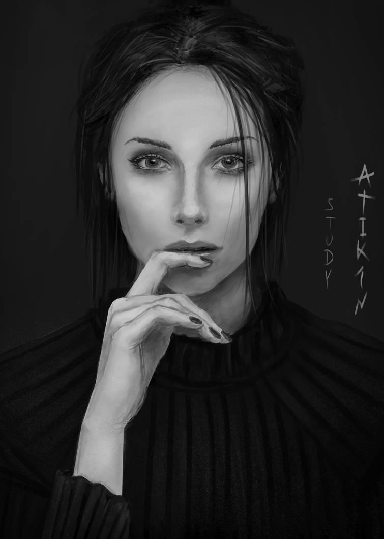 Portrait3 by Atik1n