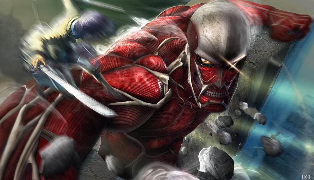 Colossal Titan. by chuekjai on DeviantArt