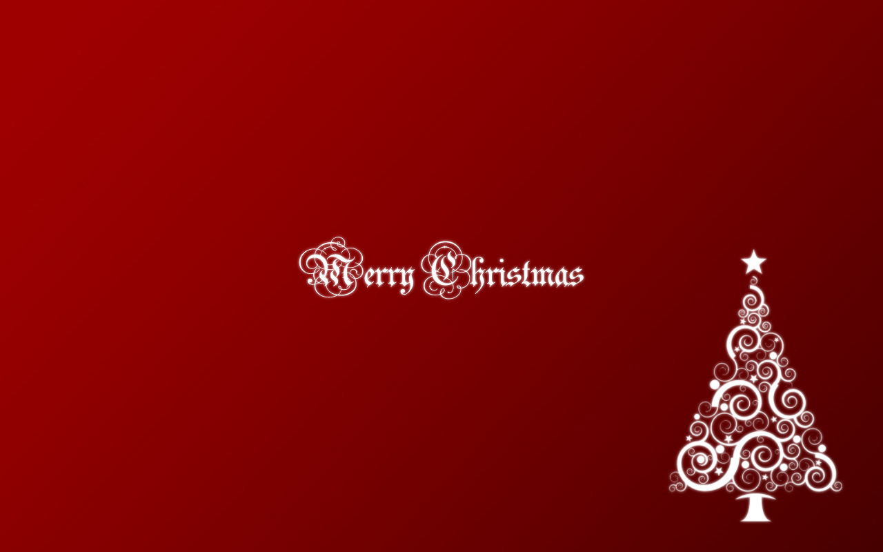 Merry Christmas 1280x800 by kegonomics