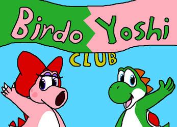 for birdo-yoshi-club by GreggJanus
