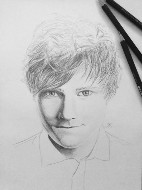 Ed Sheeran wip by Sylkee