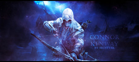 Sign GFX - Connor Kenway