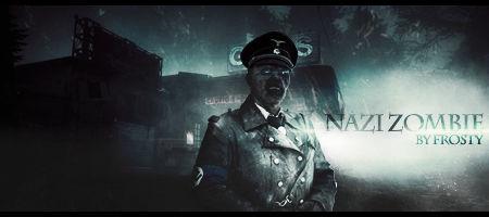 Nazi Zombie - Sign GFX
