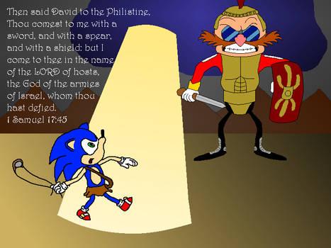David versus Goliath by Sonic-Fan04