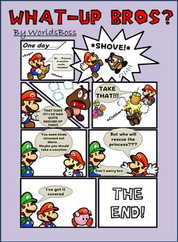 Mario Comic Strip