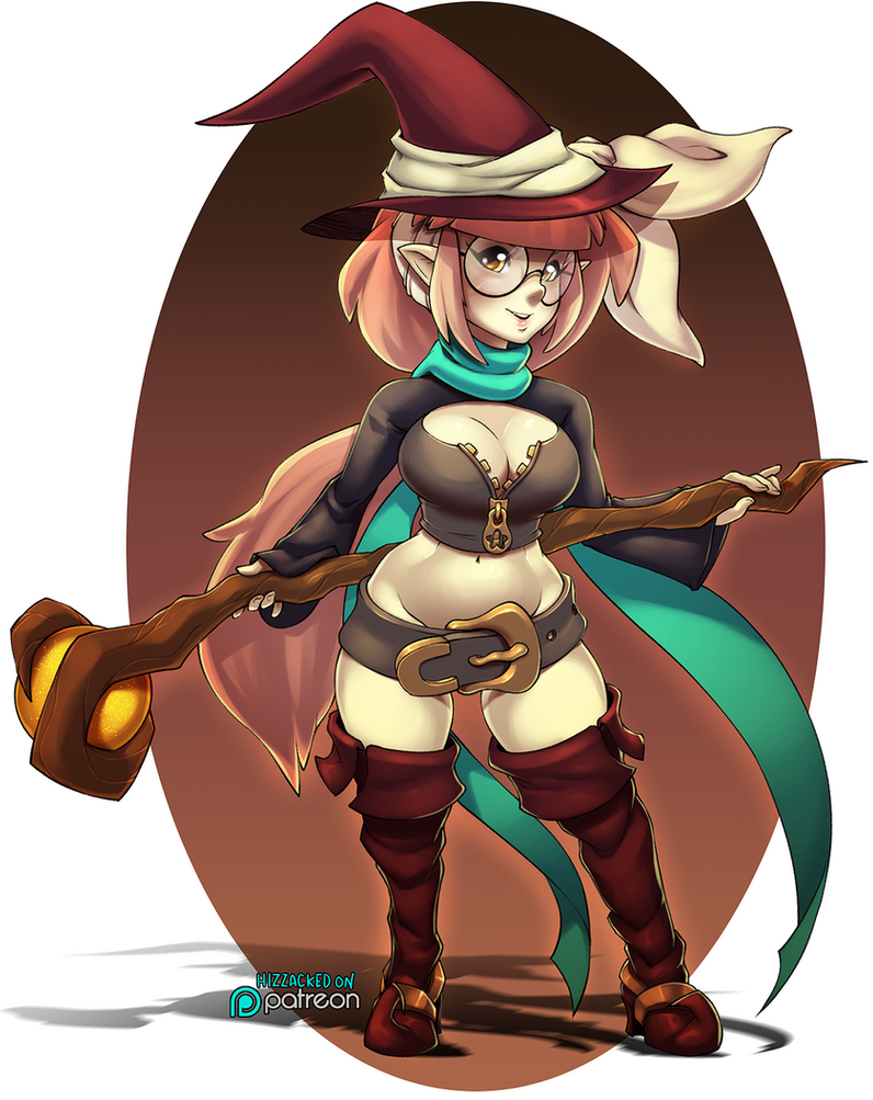Battle Witch by hizzacked