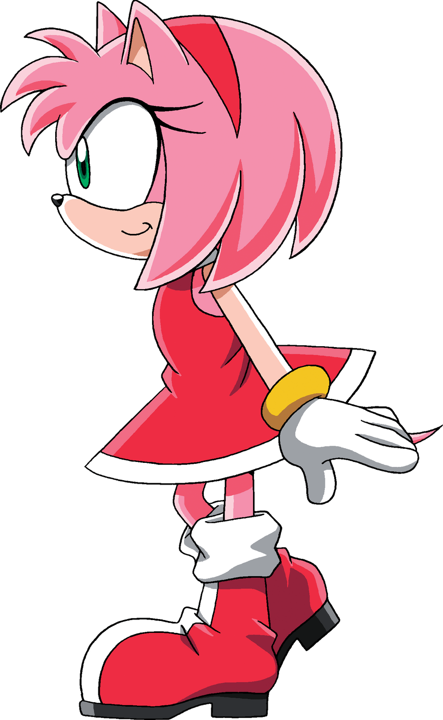 Amy rose by maddierose1 on deviantart