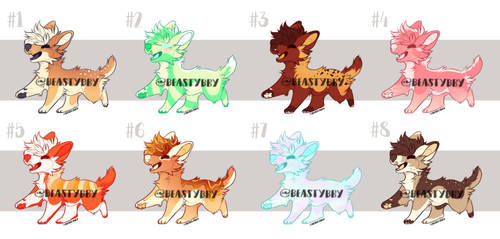 Food Themed Puppos $5 8/8 OPEN by BeastyBby
