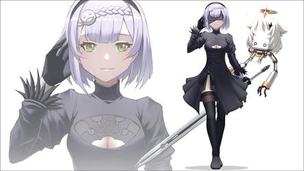 [Commission] Noelle 2B : Genshin Automata