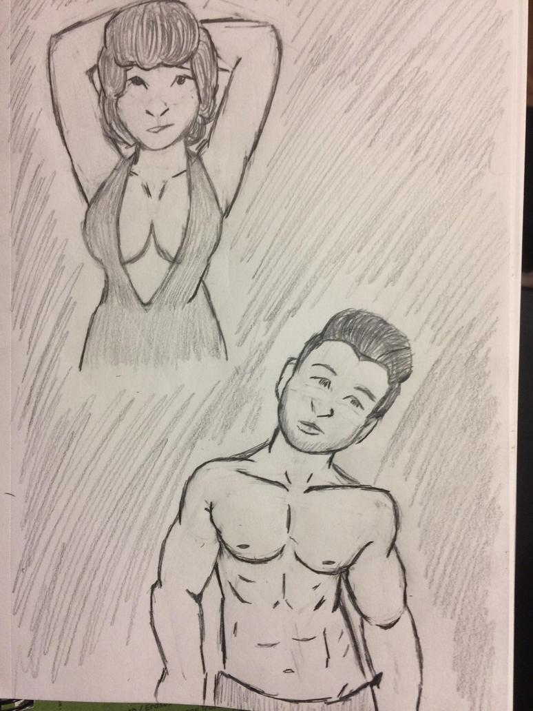 Procrastination sketch #4 by FoolsPeace