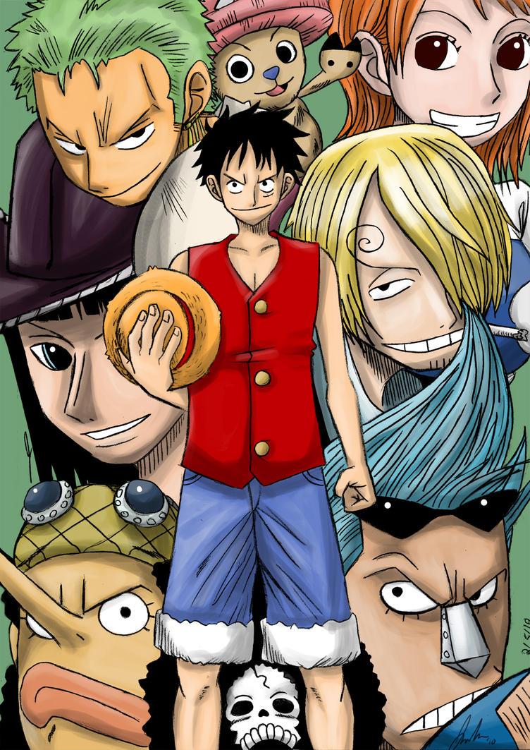 One Piece - Nakama by kentaropjj
